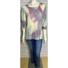 Load image into Gallery viewer, Ulla Tie Dye Knit Top