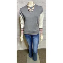 Load image into Gallery viewer, Charlie B Color Block Quartz Knit Sweater