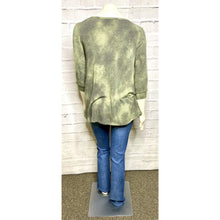 Load image into Gallery viewer, Tie Dye Green Knit