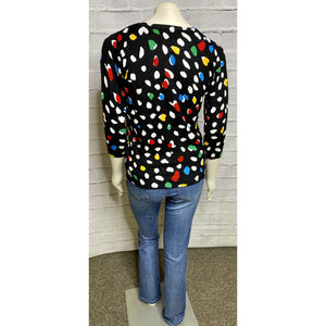 Multi Color Button Cardigan