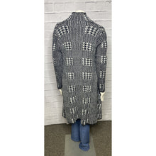 Load image into Gallery viewer, Hounds Tooth Sweater Cardigan