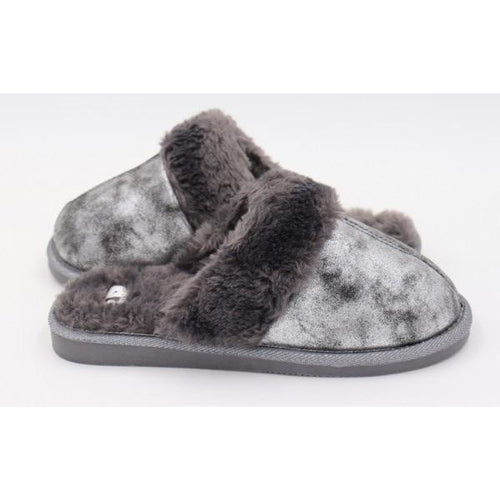 Corky's Snooze Slipper - Pewter