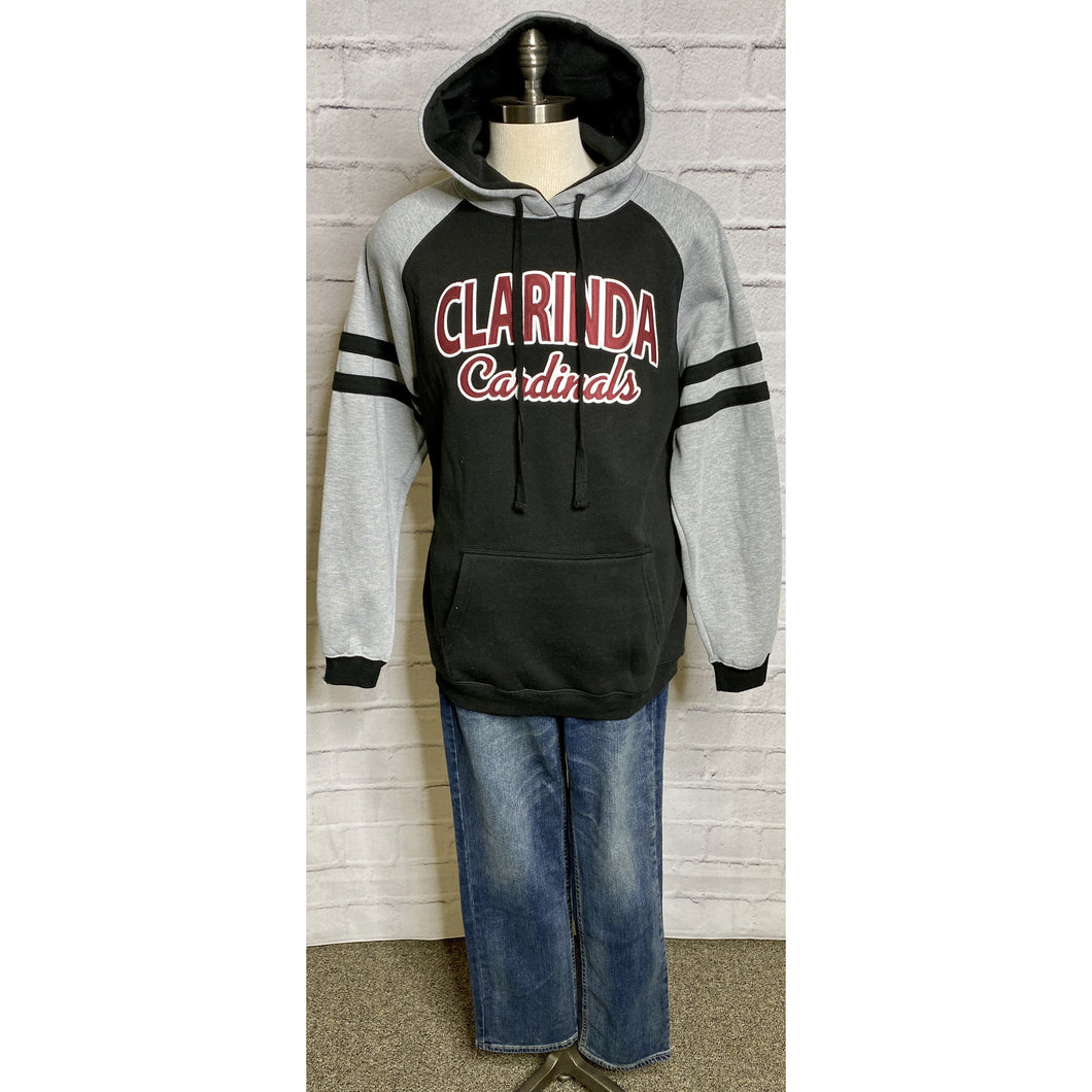 Embroidered Clarinda Hooded Sweatshirt