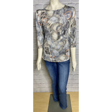 Load image into Gallery viewer, Berit 3/4 Sleeve Print Top