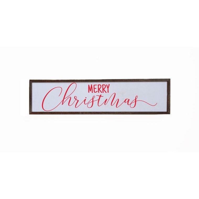 Merry Christmas Wall Decor - 24x6