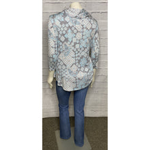 Load image into Gallery viewer, Paisley Cowl Neck Print Top