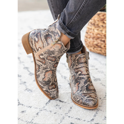 Corkys Brown Snake Neal Boot