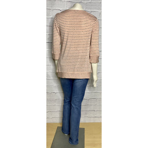 Lilou Yarn Dye Stripe Top