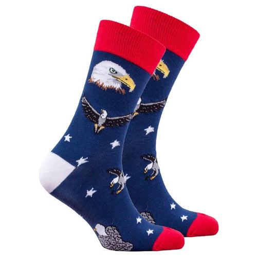 Men's Bald Eagle Socks
