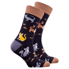 Load image into Gallery viewer, Men's Mrs.Kitty Socks