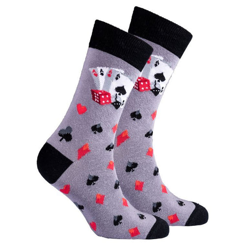 Men's Deck Of Card Socks