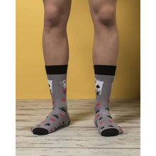 Load image into Gallery viewer, Men's Deck Of Card Socks