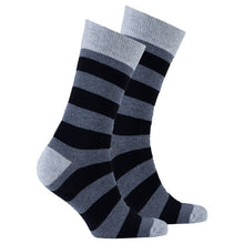 Load image into Gallery viewer, Men's Iron Gate Stripe Socks
