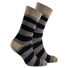 Load image into Gallery viewer, Men's Sage Stripe Socks