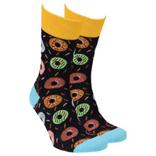 Load image into Gallery viewer, Men's Donuts Socks