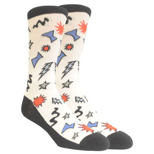 Men's Party Shapes Socks