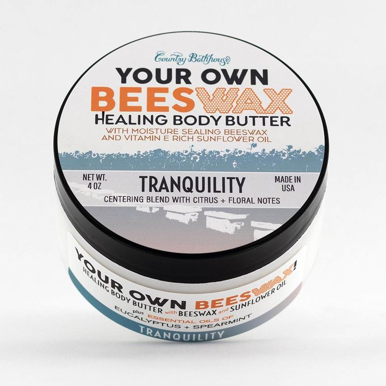 Your Own Beeswax Body Butter - Tranquility
