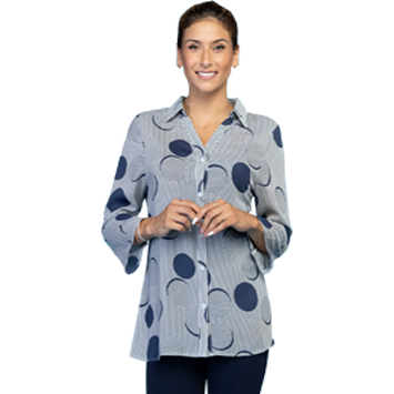 Circle Dot Blouse