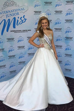 International Junior Miss PRETEEN 2014 - Crowning Gown