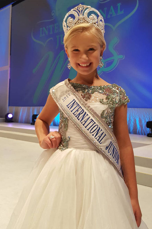 International Junior Miss JR PRINCESS 2017 - Crowning Gown