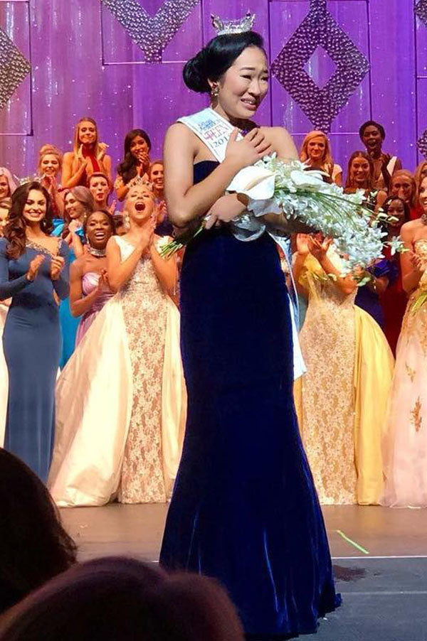 Miss Georgia's Outstanding Teen 2018 - State Evening Gown