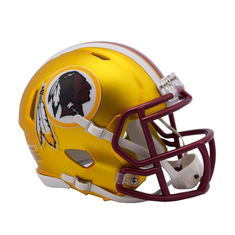 CASCO MINI SPEED BLAZE REDSKINS