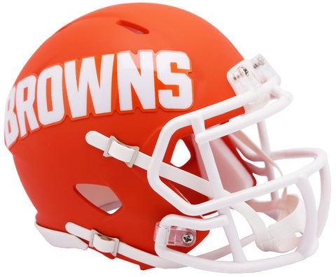 CASCO MINI SPEED AMP BROWNS RIDDELL