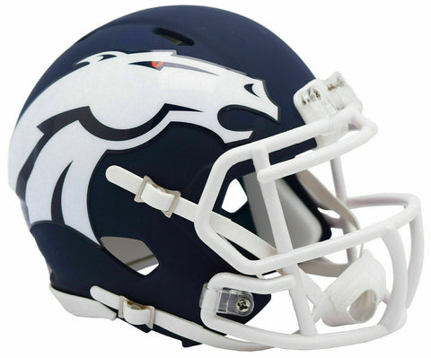CASCO MINI SPEED AMP BRONCOS RIDDELL