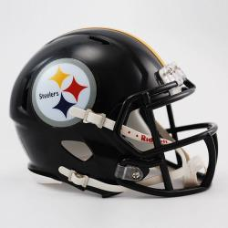 CASCO MINI SPEED STEELERS RIDDELL