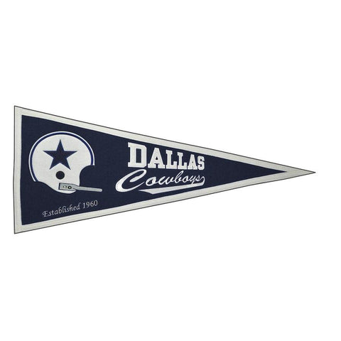 BANDERIN THROWBACK PENNANT COWBOYS