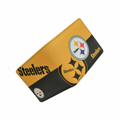 CARTERA BI FOLD STEELERS