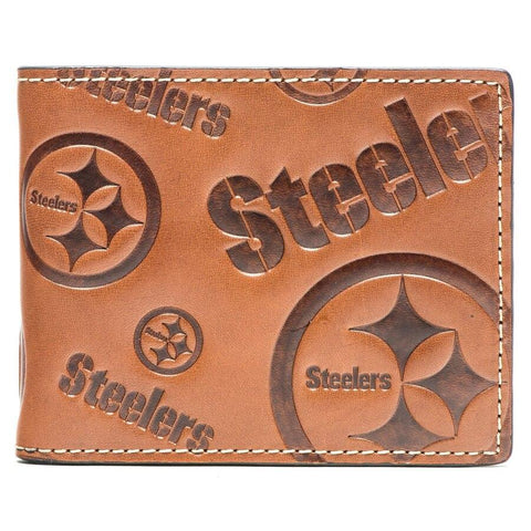 CARTERA NFL JMF GRABADA STEELERS