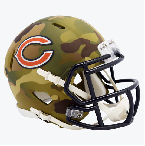 CASCO MINI SPEED CAMO BEARS RIDDELL