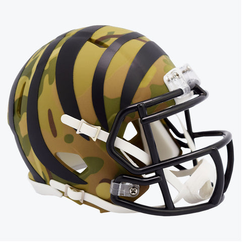 CASCO MINI SPEED CAMO BENGALS RIDDELL