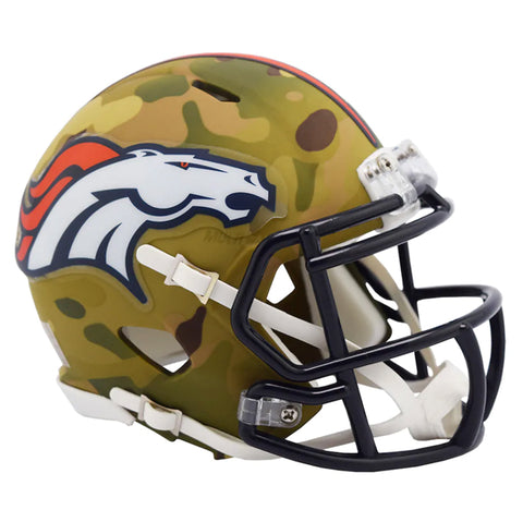CASCO MINI SPEED CAMO BRONCOS RIDDELL