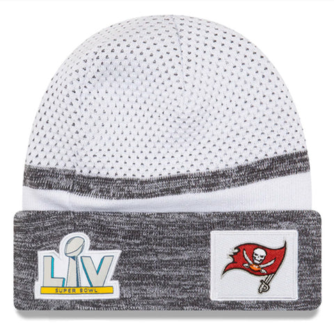 GORRO SUPER BOWL LV KNIT BUCCANEERS NEW ERA