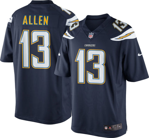 JERSEY GAME CHARGERS ALLEN TC HOMBRE