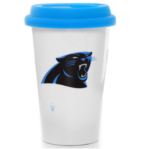 VASO NFL CERAMIC COFFEE MUG PANTHERS