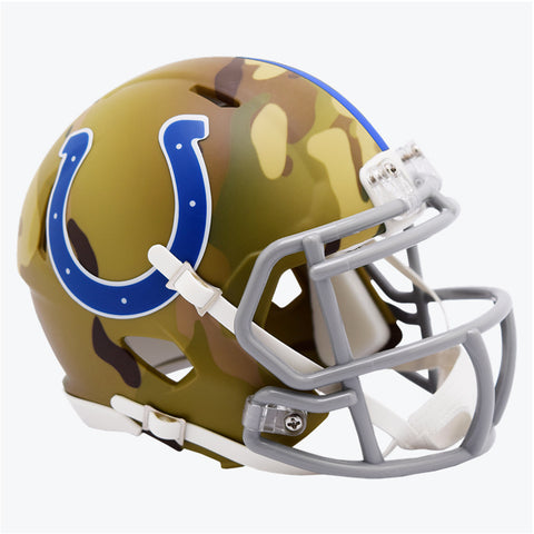 CASCO MINI SPEED CAMO COLTS RIDDELL