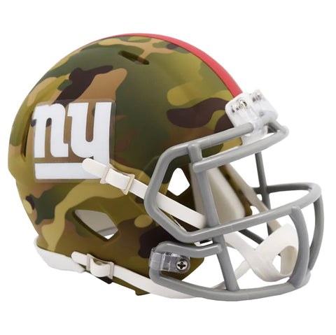 CASCO MINI SPEED CAMO GIANTS RIDDELL