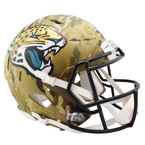CASCO MINI SPEED CAMO JAGUARS RIDDELL