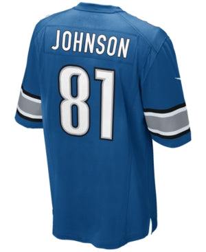 JERSEY GAME LIONS JOHNSON TC HOMBRE