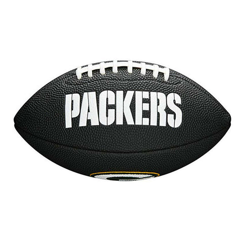 BALON MINI COMPO NEGRO PACKERS WILSON