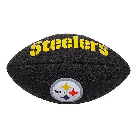 BALON MINI COMPO NEGRO STEELERS WILSON