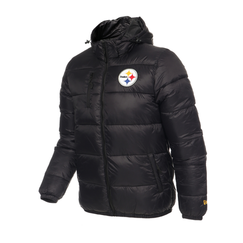 CHAMARRA NE 19 COLD W STEELERS HOMBRE