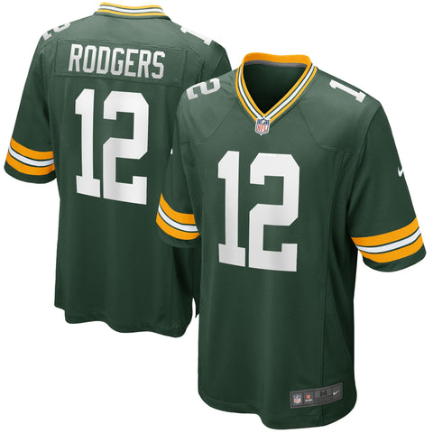 JERSEY GAME PACKERS RODGERS TC HOMBRE