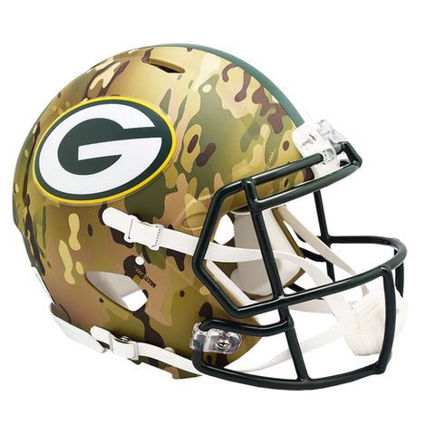 CASCO MINI SPEED CAMO PACKERS RIDDELL