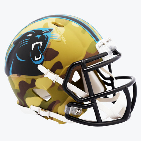 CASCO MINI SPEED CAMO PANTHERS RIDDELL
