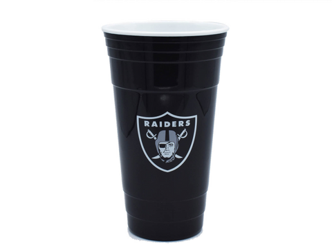 VASO NFL PARTY CUP RAIDERS