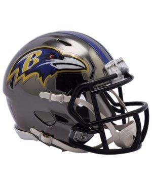 CASCO MINI SPEED CHROME RAVENS RIDDELL